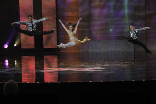 Kevin Cosculluela - Angela Cosculluela - Gino Cosculluela - Americas Got Talent - 2012 - Virginia Sherwood NBC - Baltimore Sun