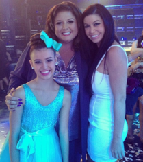 AUDC- Abby Lee Miller with Kalani and Kira