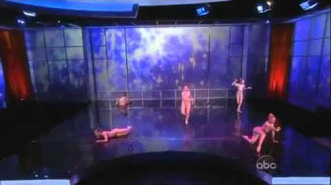 Dance Moms Group Dance-Born To Dance-Performing On The View