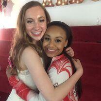 Chloe Smith and Nia