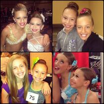 Kayla and Caylie - posted for Ks 10th birthday