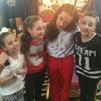 Team with mirandasingsofficial (Colleen Ballinger) 2015-01-29