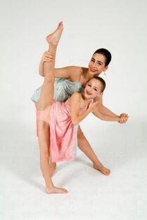 Chloe and Olivia Ice recital pic