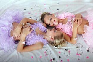 Glitzy girls