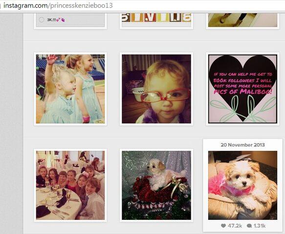 File:Mackenzie posting pics of Maliboo by 20Nov2013.jpg