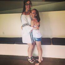 Maddie Ziegler to Olivia Ice on graduating - 2015-06-07