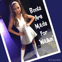 Maddie Boots Are Made for Walkin 2015-04-06