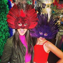 Kendall and Charlotte New Orleans 2015-04-03
