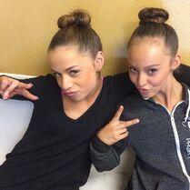 Talia and Alexandra 2015-01-20