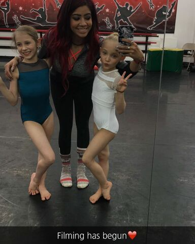 File:712 Ellie and Lilly with new studio owner.jpg