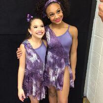Mackenzie and Nia duet 2015-01-11 Melissa-gram