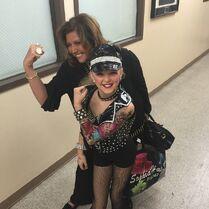 JoJo and Abby biker girl 2015-04-04