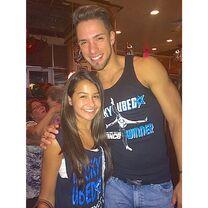 Victor Smalley with Alyssa Chi