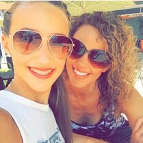 Jeanette and Ava in LA as part of CADC - 2015-04-29