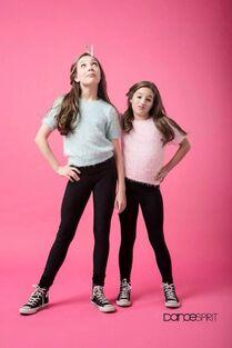 Dance Spirit Magazine - Mackenzie and Maddie Ziegler E