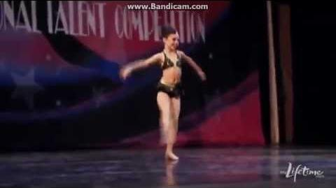 Dance Moms-Maddie Solo-Lights, Camera, Action