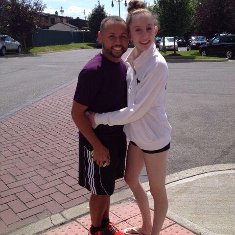 File:James Washington with Chloe Smith 2014-08-30.jpg