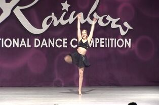 Taylor O'Lear with Bourn Academy of Dance at Rainbow 03-06-2015 (I Will Always Love You) 00.16