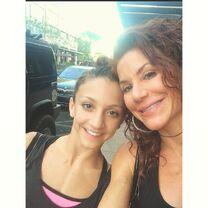 Tessa and mom Renee 2015-03-18