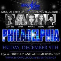 713 Philadelphia M&G poster