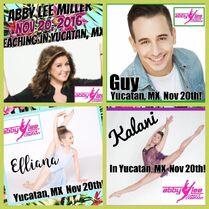 ALDC Yucatan, MX M&G poster