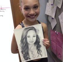 Maddie with picture