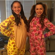Alexandra and Talia 2015-02-26