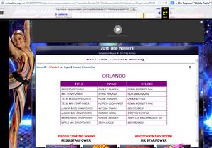 2011 Starpower Orlando Results