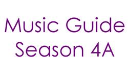 Music Guide Season 4A Century Gothic Font