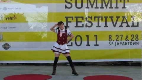 JPSF 2011, Danceroid Luka Luka Night Fever ルカルカ★ナイトフィーバー