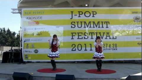 JPSF 2011, Danceroid Emo Love えもラブ-0
