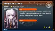 Kyoko Kirigiri Report Card Page 5