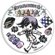 GraffArt Can Badge Kokichi Oma