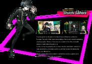 Shuichi Saihara Danganronpa V3 Official English Website Profile (Grandfather Error)