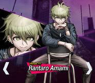 Rantaro Amami Danganronpa V3 Official English Website Profile (Mobile)