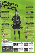 Art Book Scan Danganronpa V3 Tsumugi Shirogane Character Profiling