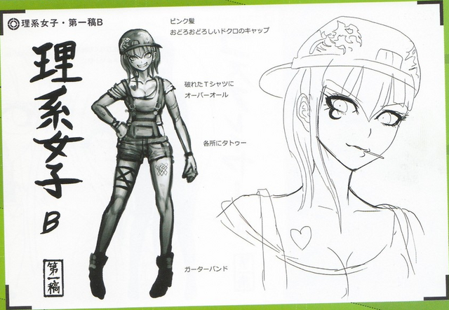 File:Art Book Scan Danganronpa V3 Character Designs Betas Miu Iruma (2).png