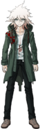 Nagito Komaeda Fullbody Sprite (2)