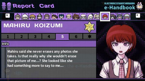 Mahiru Koizumi's Report Card Page 5