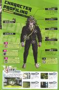 Art Book Scan Danganronpa V3 Gonta Gokuhara Character Profiling