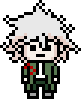 Danganronpa 2 Island Mode Nagito Komaeda Pixel Icon (1)