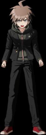 File:Danganronpa 1 Makoto Naegi Sprite (PSP) 08.png