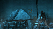 Munakata stops himself from killing Naegi