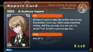 Byakuya Togami Report Card Page 5