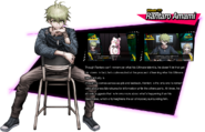 Rantaro Amami Danganronpa V3 Official English Website Profile