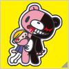 Danganronpa x Mori Chack Sticker A