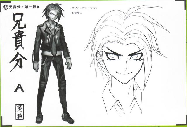 File:Art Book Scan Danganronpa V3 Character Designs Betas Kaito Momota (1).png