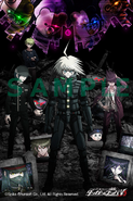 Danganronpa V3 Preorder Bonus Smart Phone Wallpaper from Joushin Denki