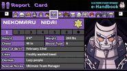 Nekomaru Nidai's Report Card (Mechamaru)