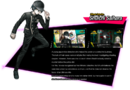 Shuichi Saihara Danganronpa V3 Official English Website Profile